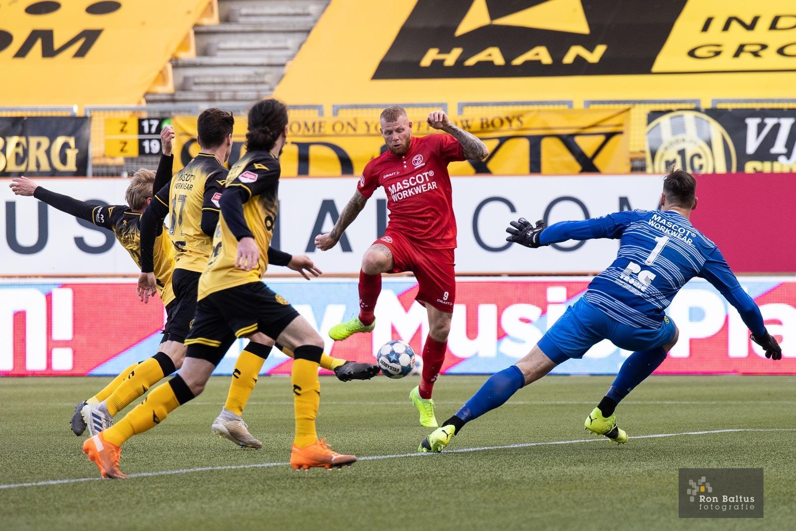 Ook in de laatste 23 minuten geen doelpunten in Kerkrade