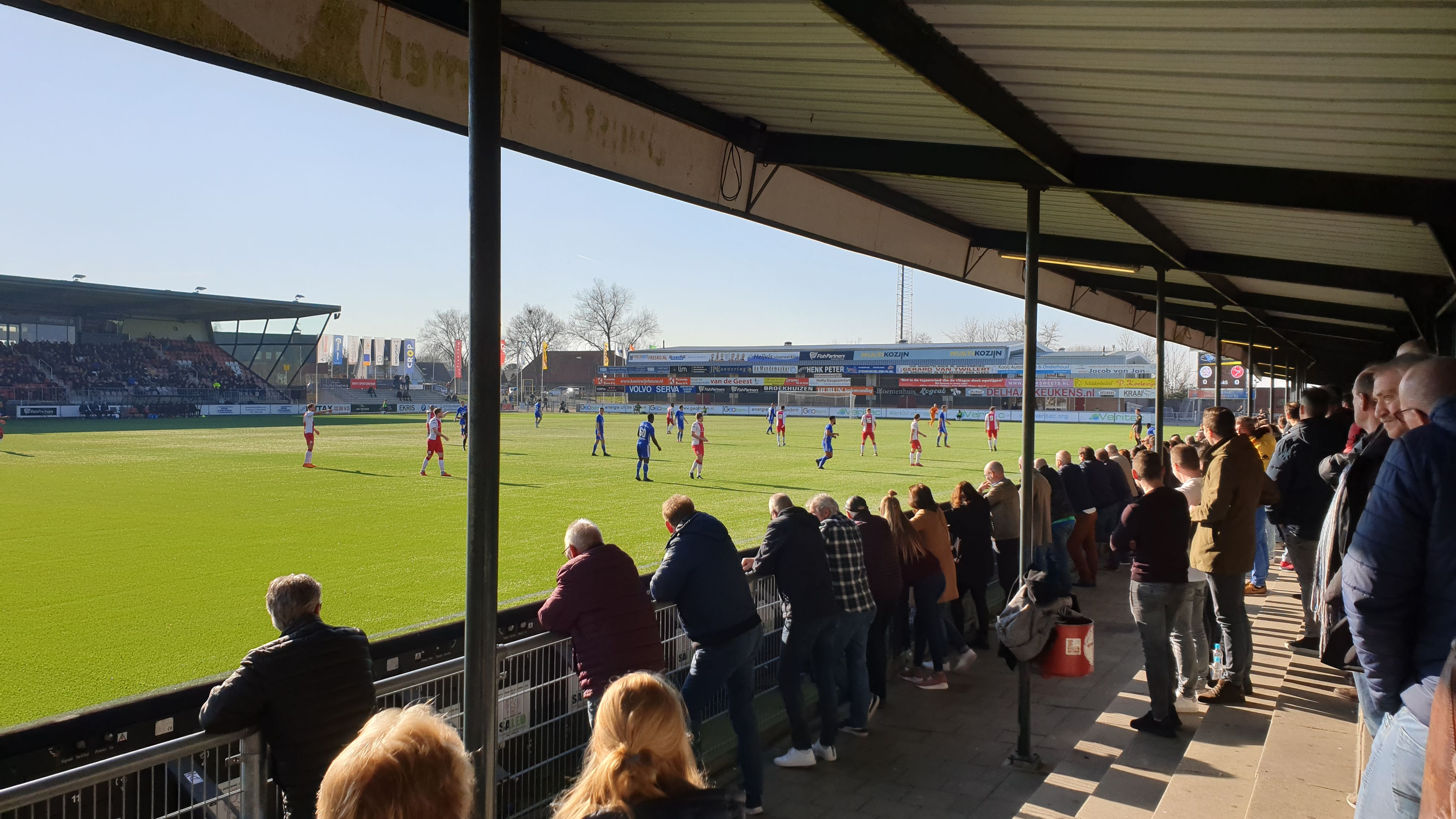 Jong Almere City FC geeft 1-3 voorsprong uit handen en verliest