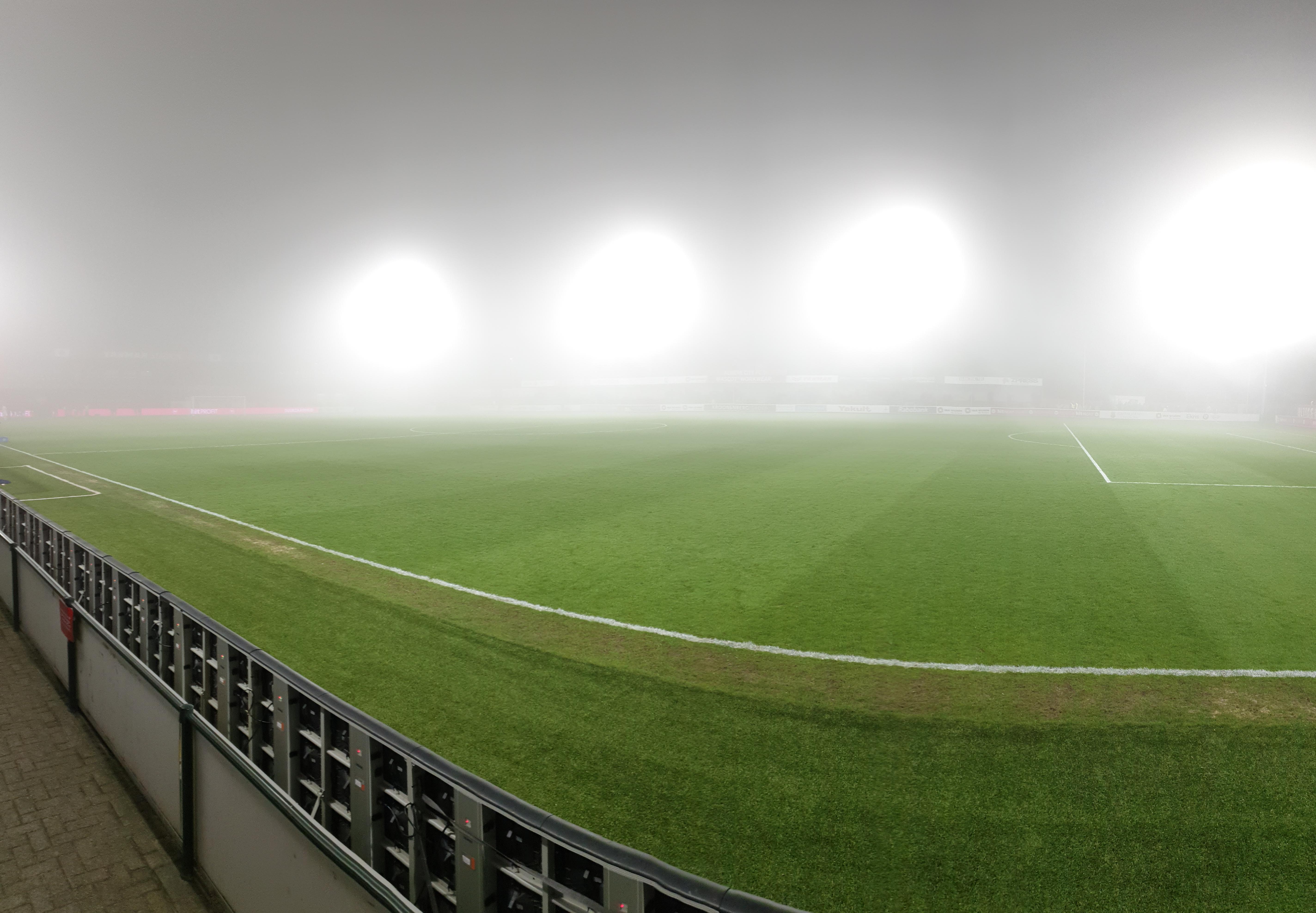 UPDATE: Almere City FC – Top Oss maandag 25 maart uitgespeeld.
