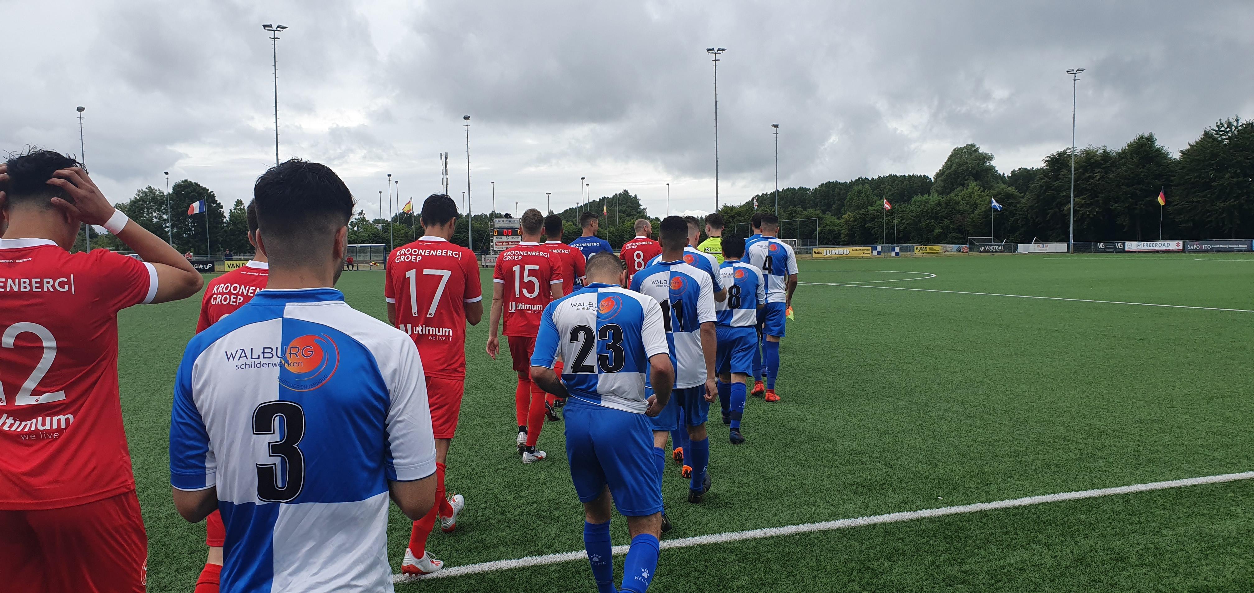 Oefencampagne gestart met 0-10 zege bij ASC Waterwijk
