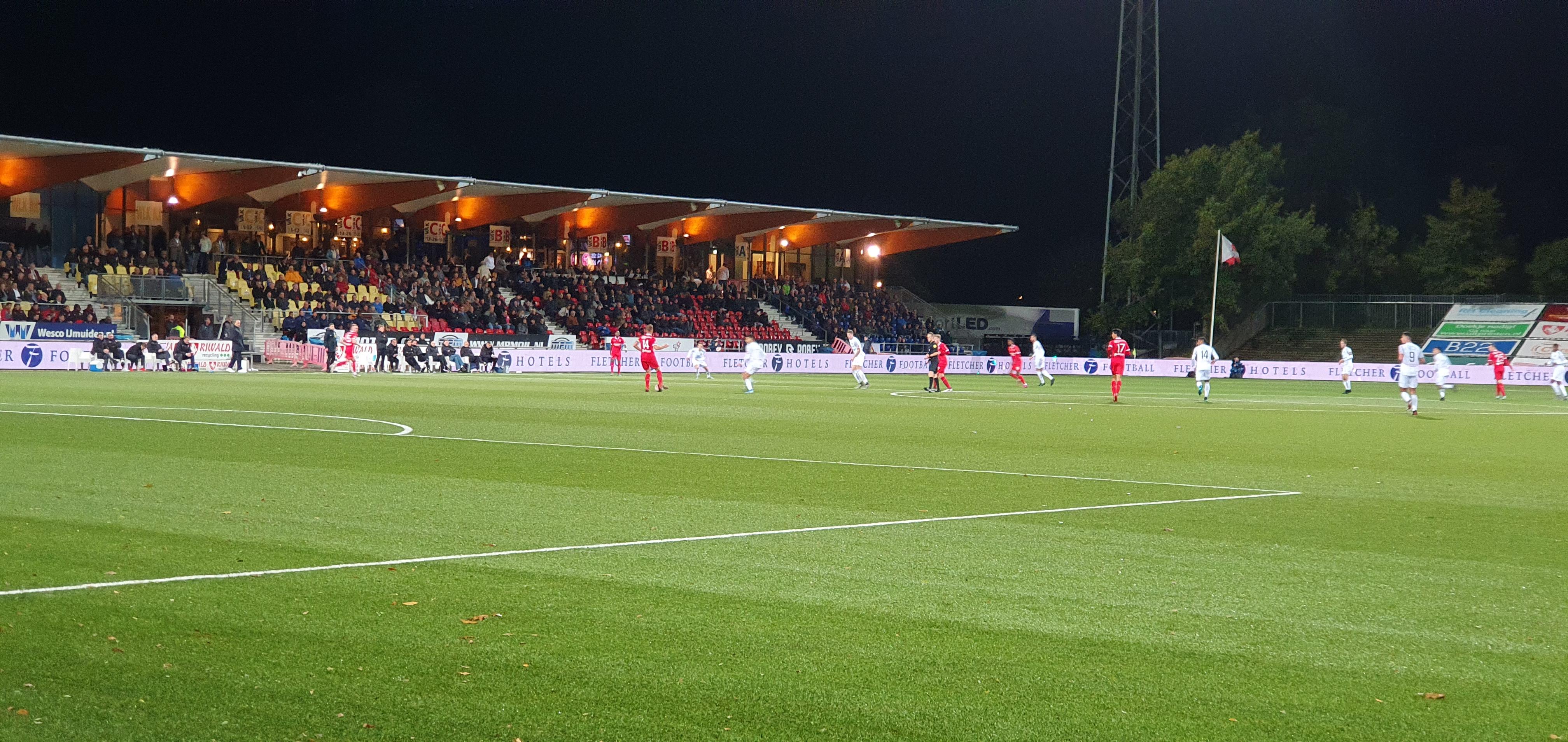Snelle goal Telstar zorgt voor verloren wedstrijd in Velsen-zuid