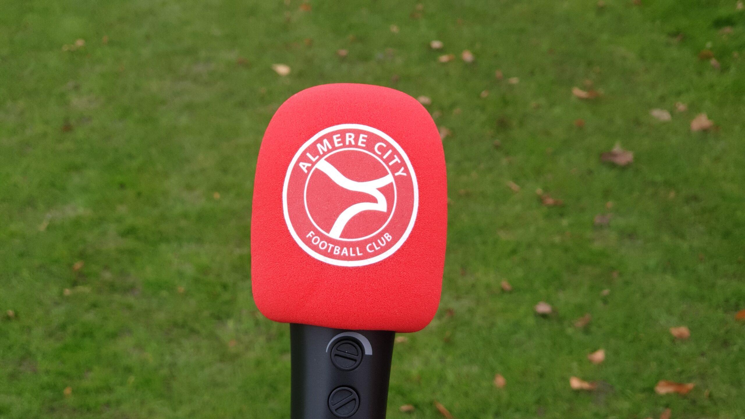 Almere City FC begint eigen podcast kanaal