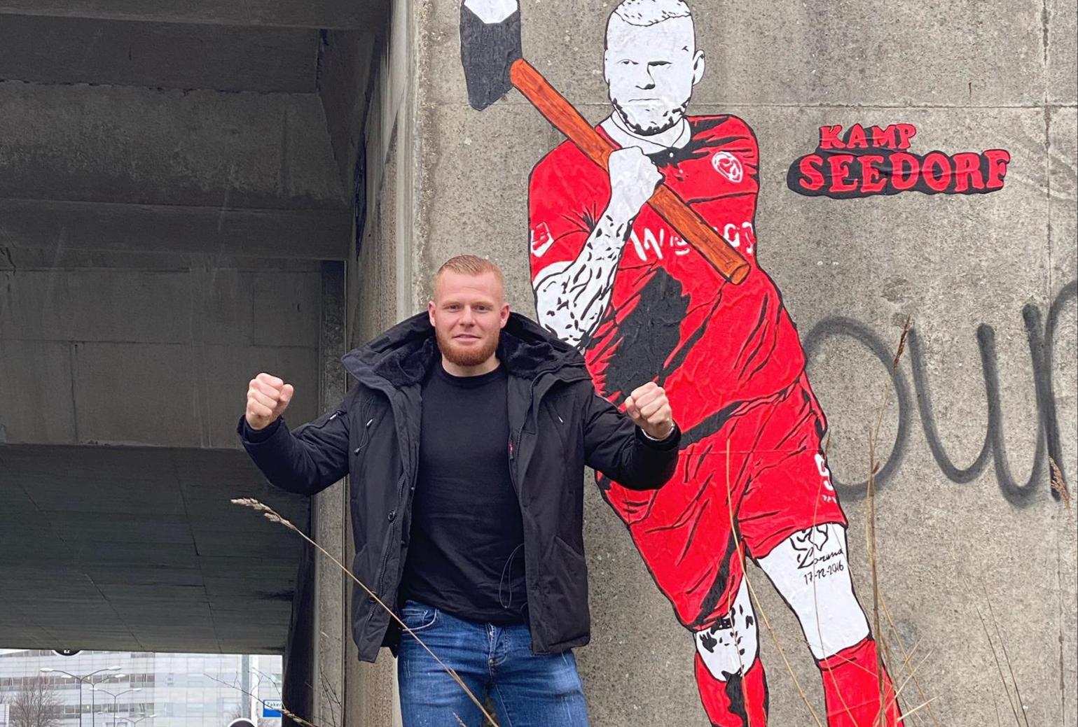 Kamp Seedorf plaatst Thomas Verheydt in het stadshart