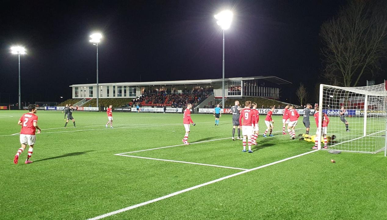 Almere City FC weet opnieuw gespeelde wedstrijd niet te winnen van Jong AZ