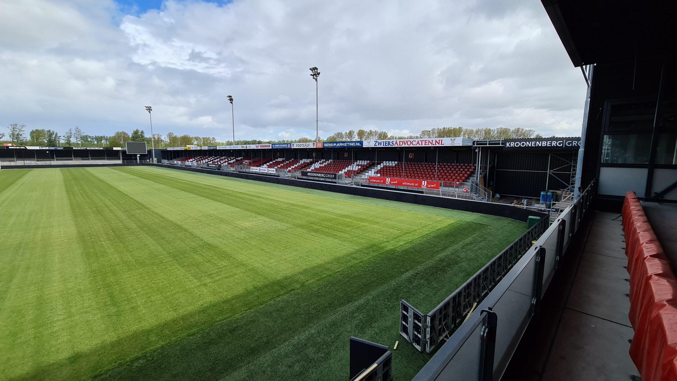 Jong Oranje speelt komende interland in Yanmar Stadion