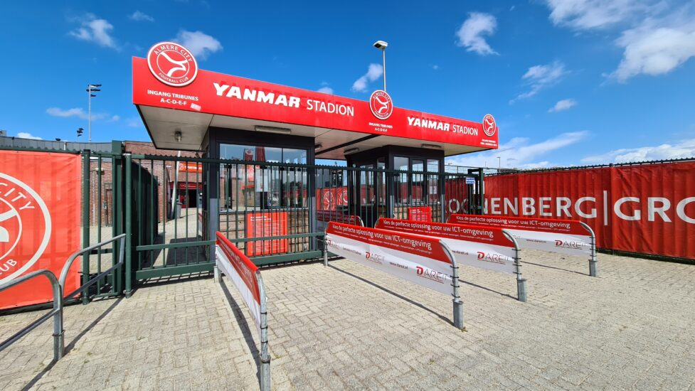 Wedstrijden tegen MVV en Helmond uitverkocht