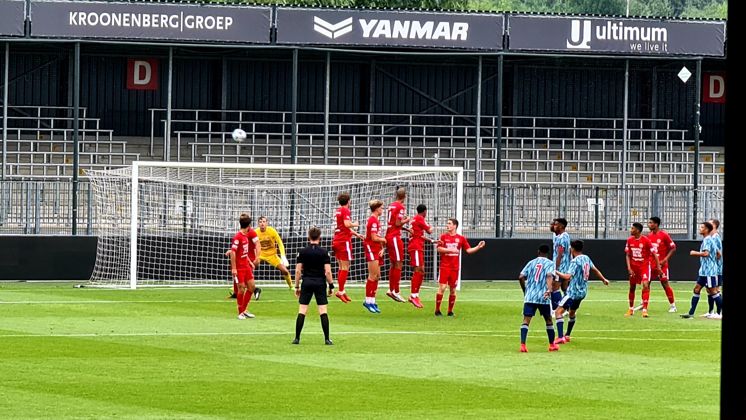 Almere City FC wint ook van Jong Ajax in voorbereiding