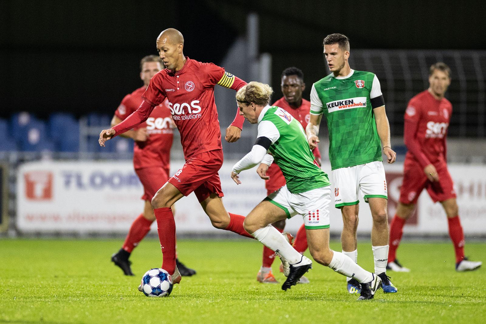 Teleurstellend gelijkspel tegen hekkensluiter FC Dordrecht