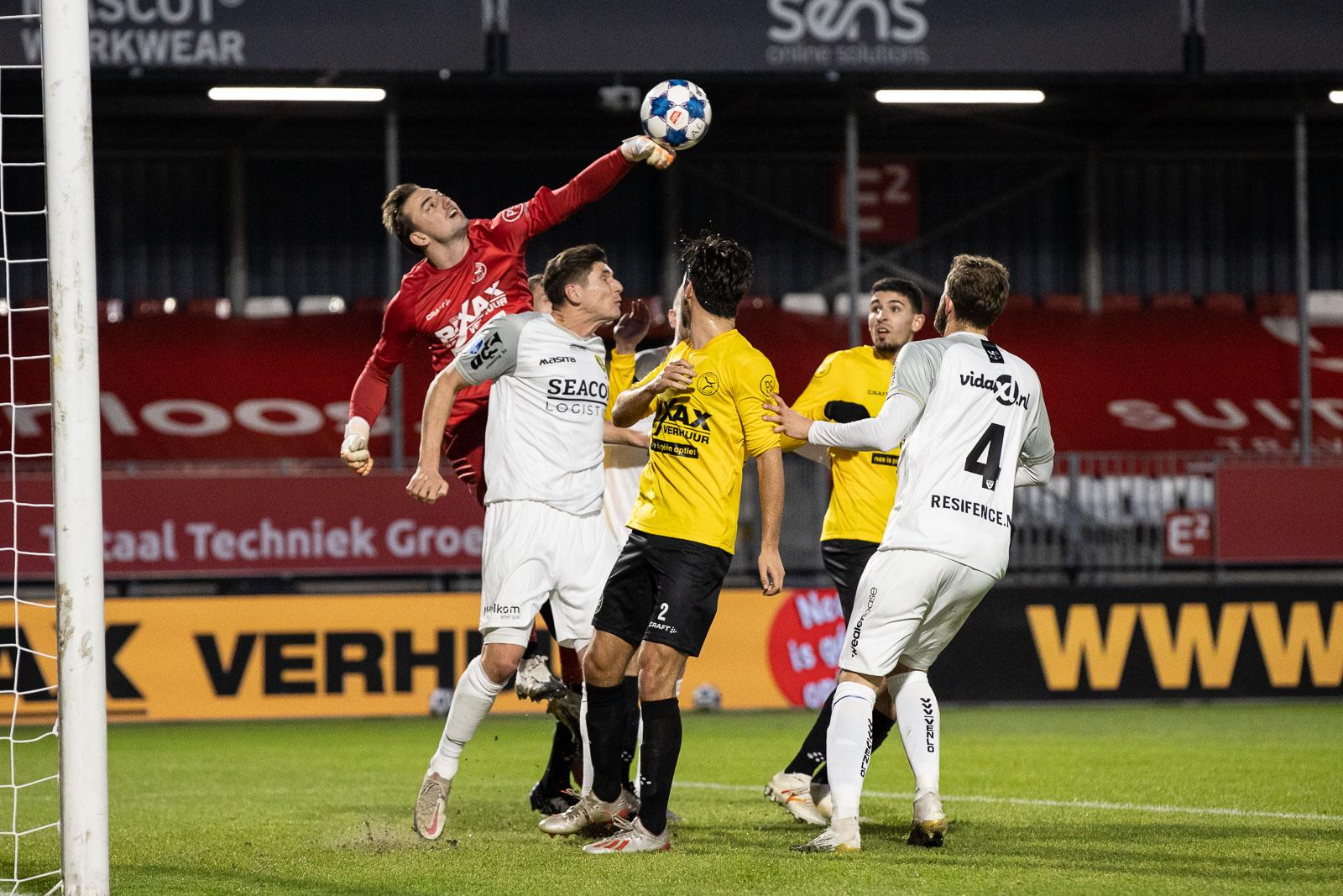 Almere City FC uitgeschakeld in KNVB Beker door VVV Venlo