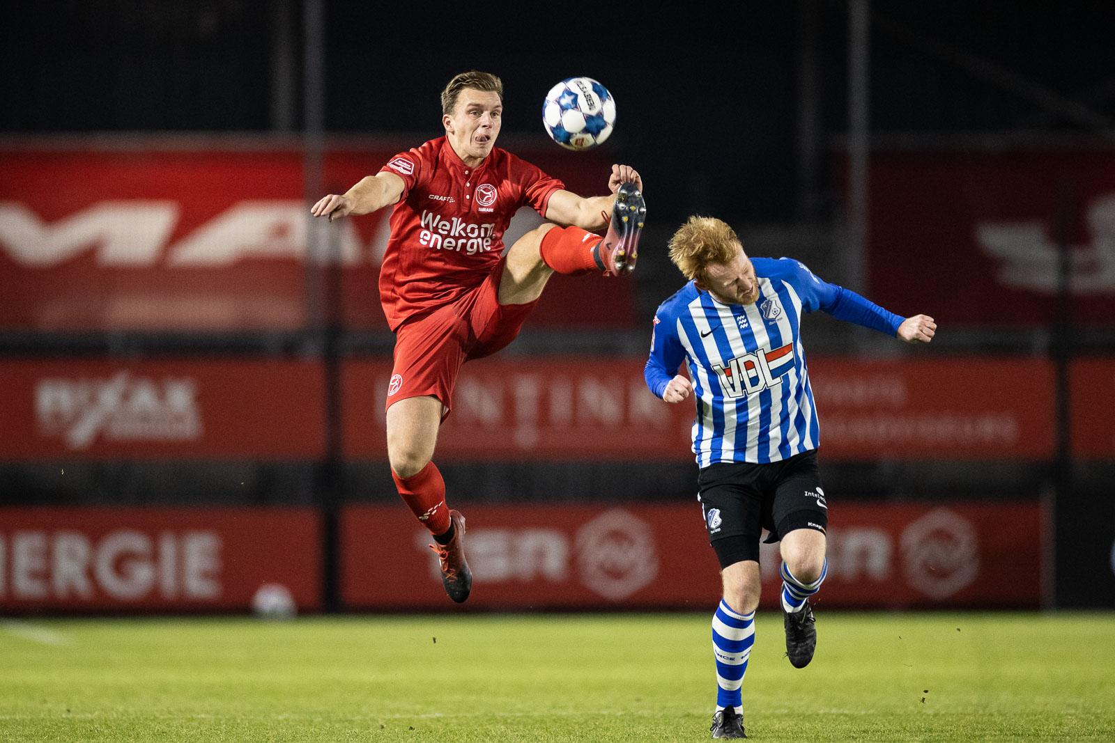 Inspiratieloos Almere City FC niet verder dan 0-0 tegen FC Eindhoven