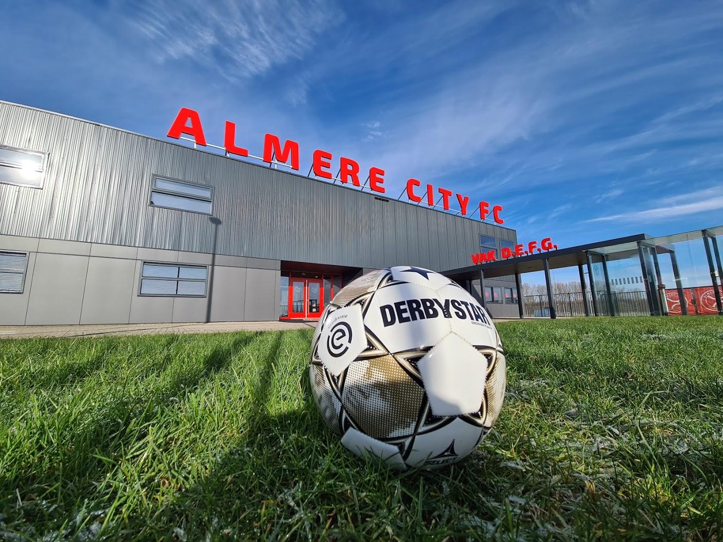 Almere City FC treft NEC in kwartfinale om promotie naar de Eredivisie