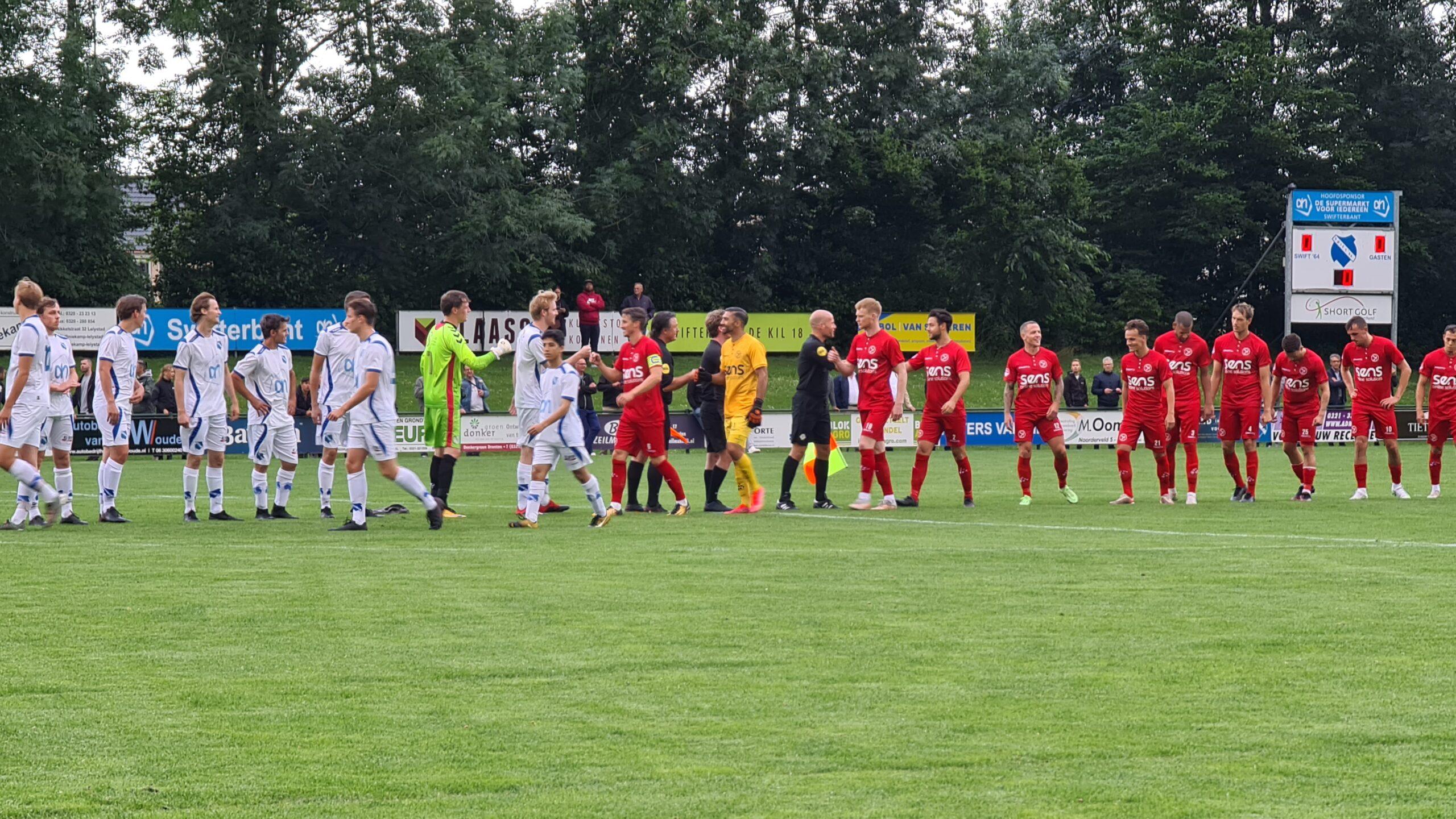 Almere City FC wint ook tweede oefenduel, Regioteam Dronten met 7-0 verslagen