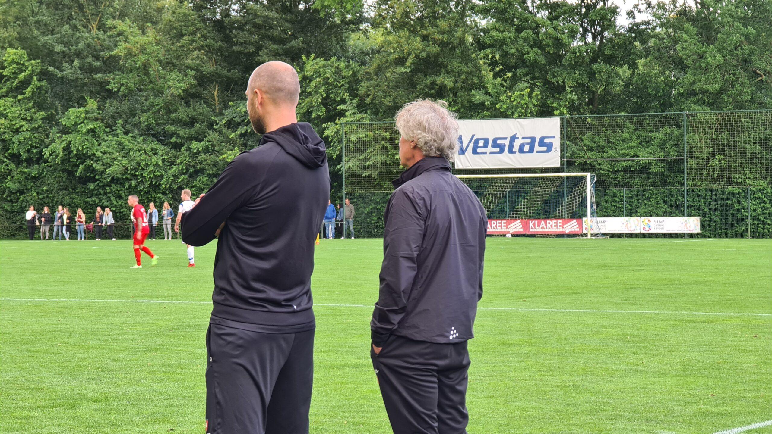 Selectie op trainingskamp in Van der Valk