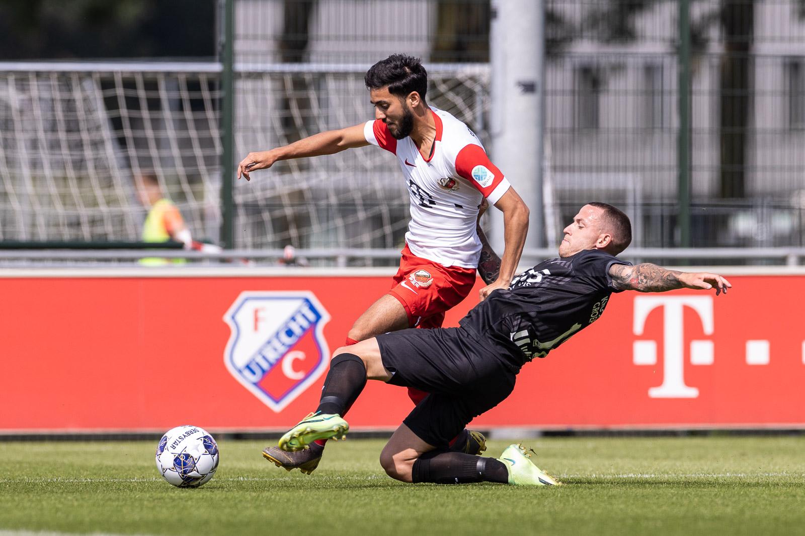 Eerste verliespartij in oefencampagne tegen Jong FC Utrecht