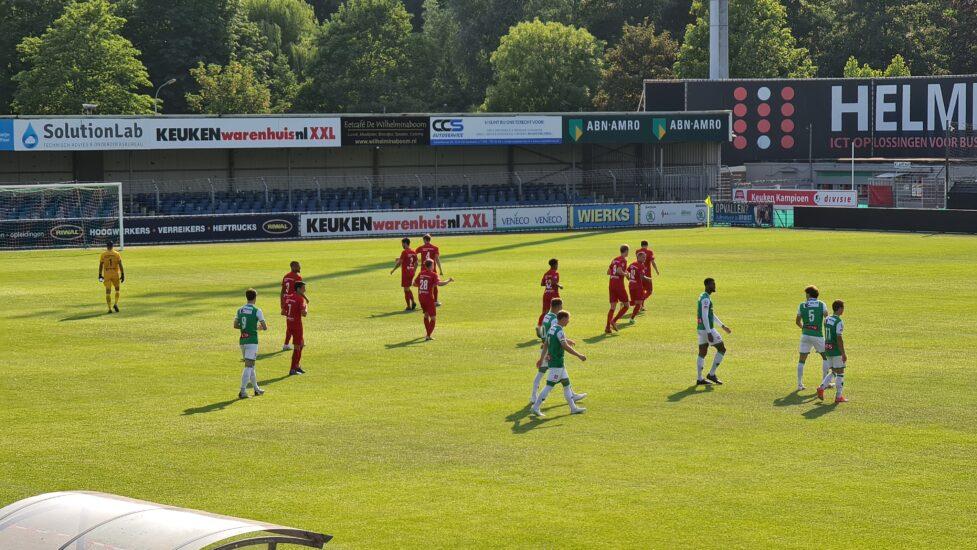 Almere City FC wint in slotfase vriendschappelijk duel van FC Dordrecht