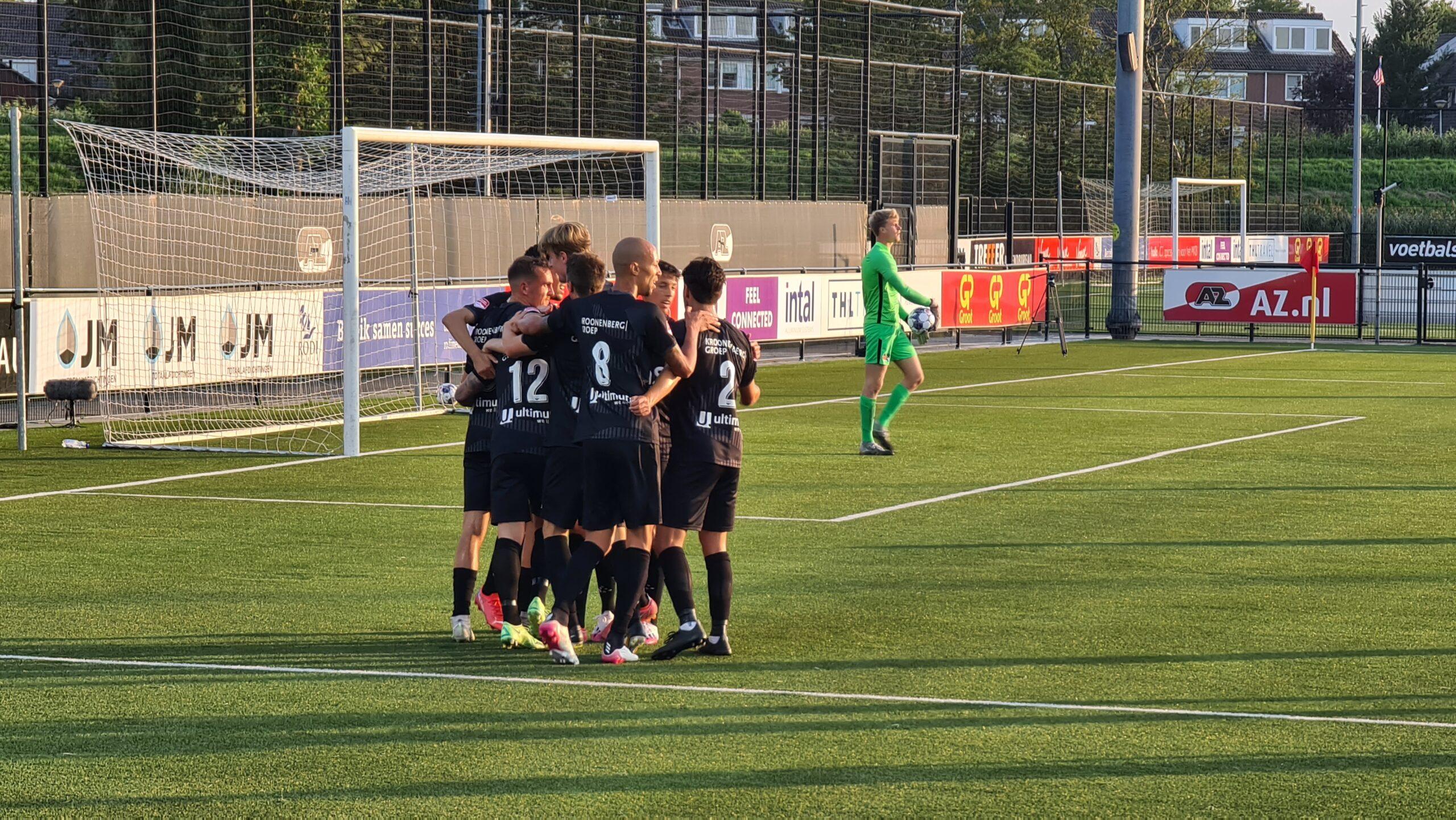 Almere City FC kent valse start seizoen 2021/22 in Wijdewormer