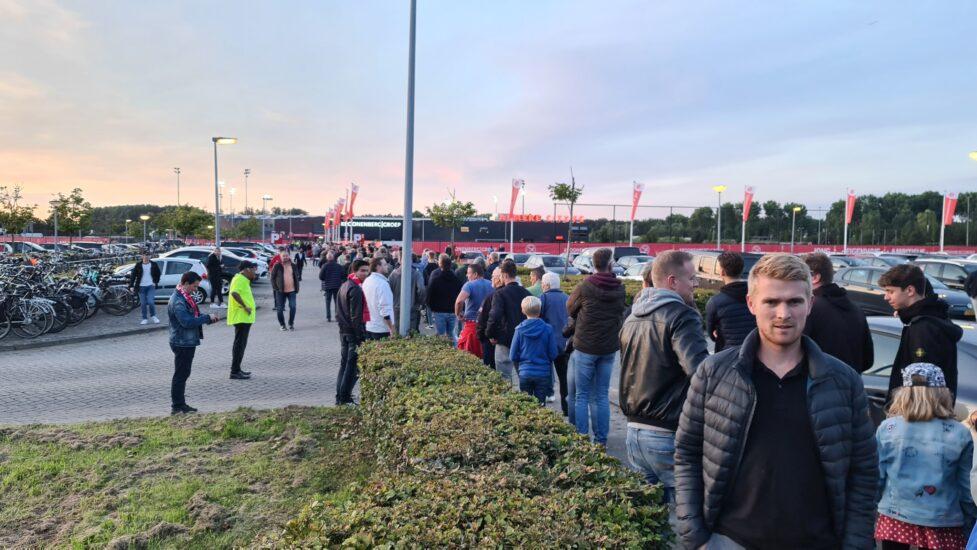Yanmar Stadion slecht bereikbaar voor duel Jong Ajax