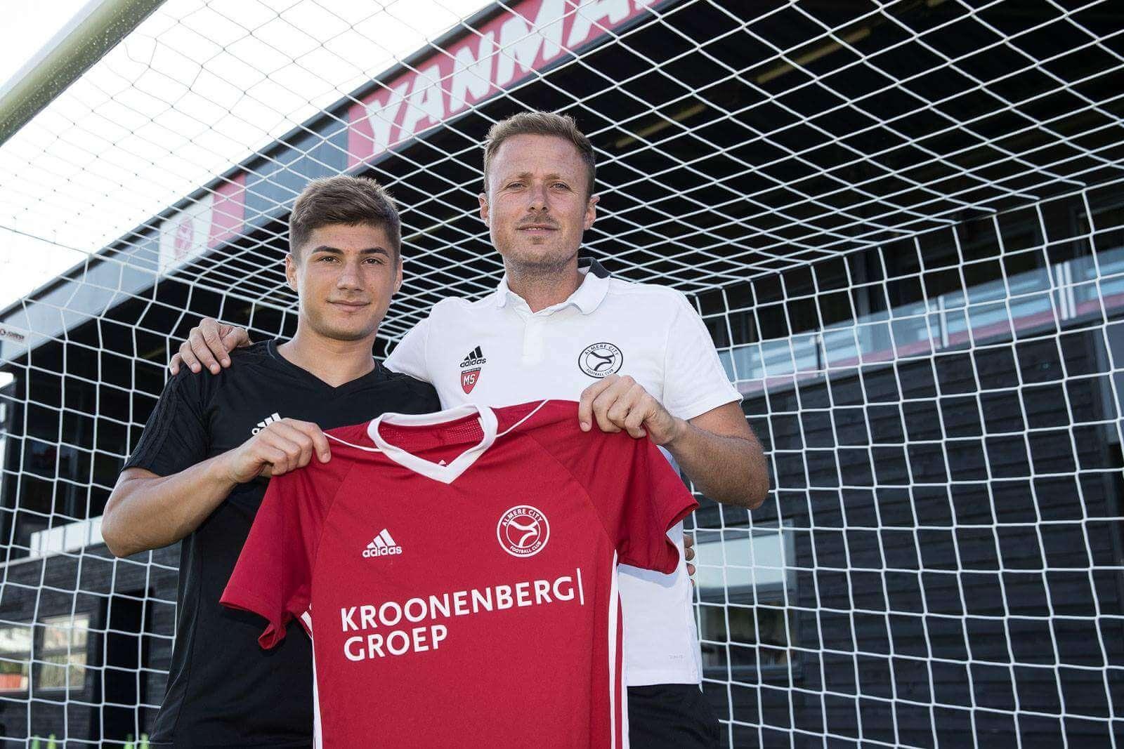 Andreias Calcan komend seizoen te bewonderen in het Yanmar Stadion