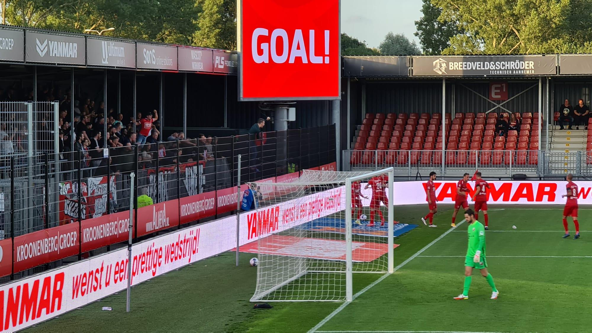 City laat Overwinning op Jong FC Utrecht in de laatste minuten glippen