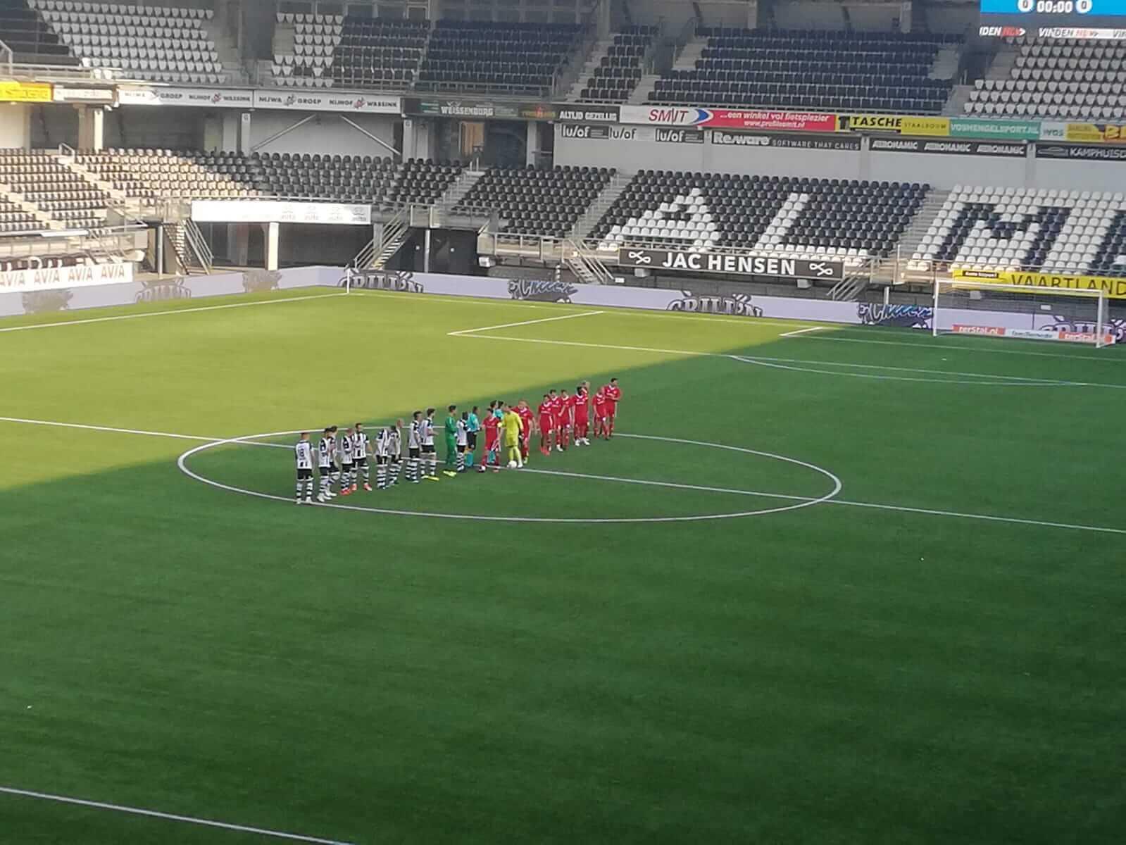 Almere City komt net te kort tegen Heracles Almelo
