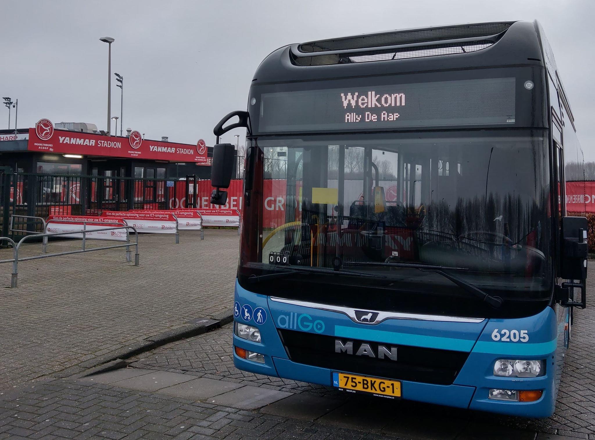 Buschauffeurs Keolis te gast bij Almere City FC - De Graafschap