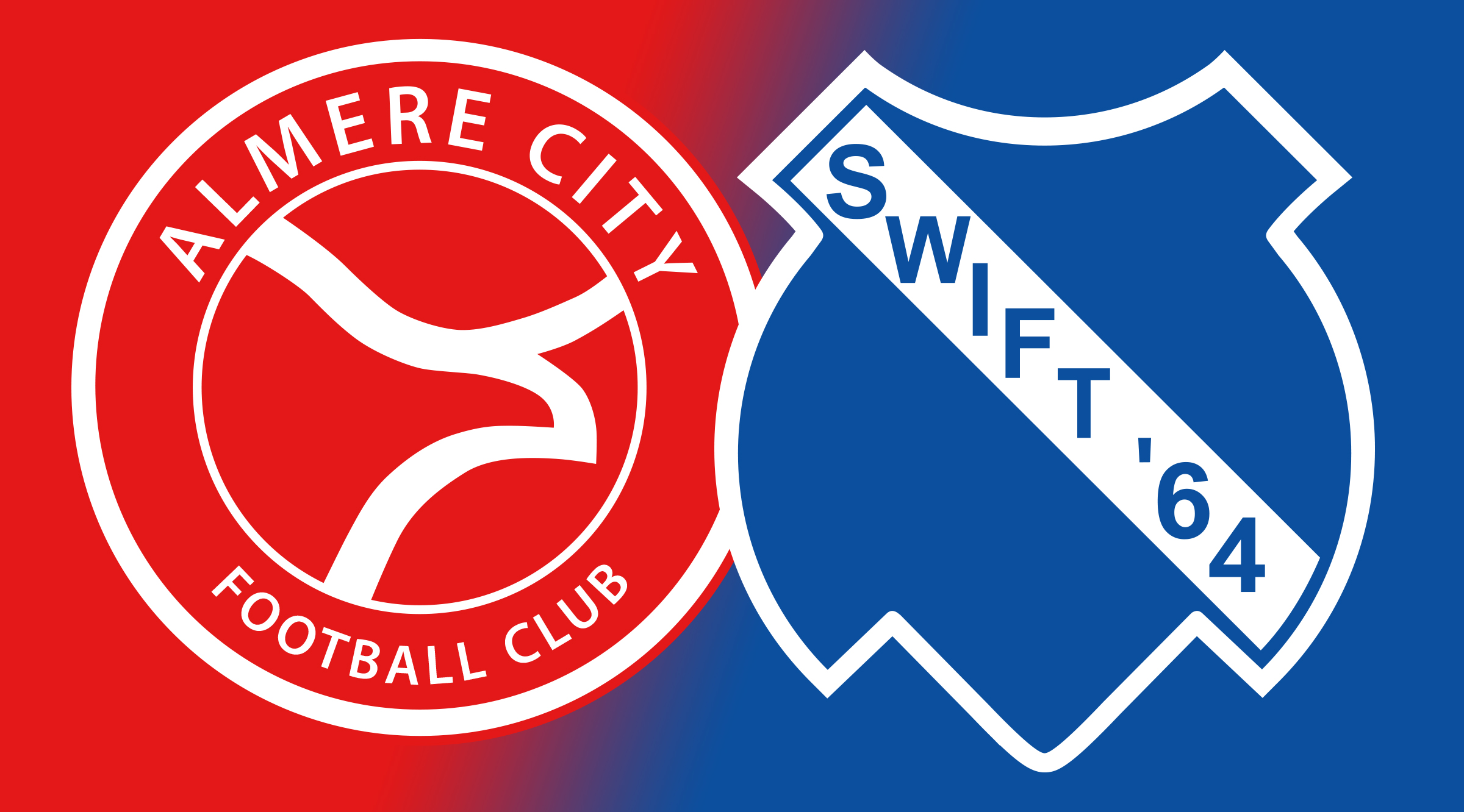 Almere City FC gaat ook samenwerken met Swift '64