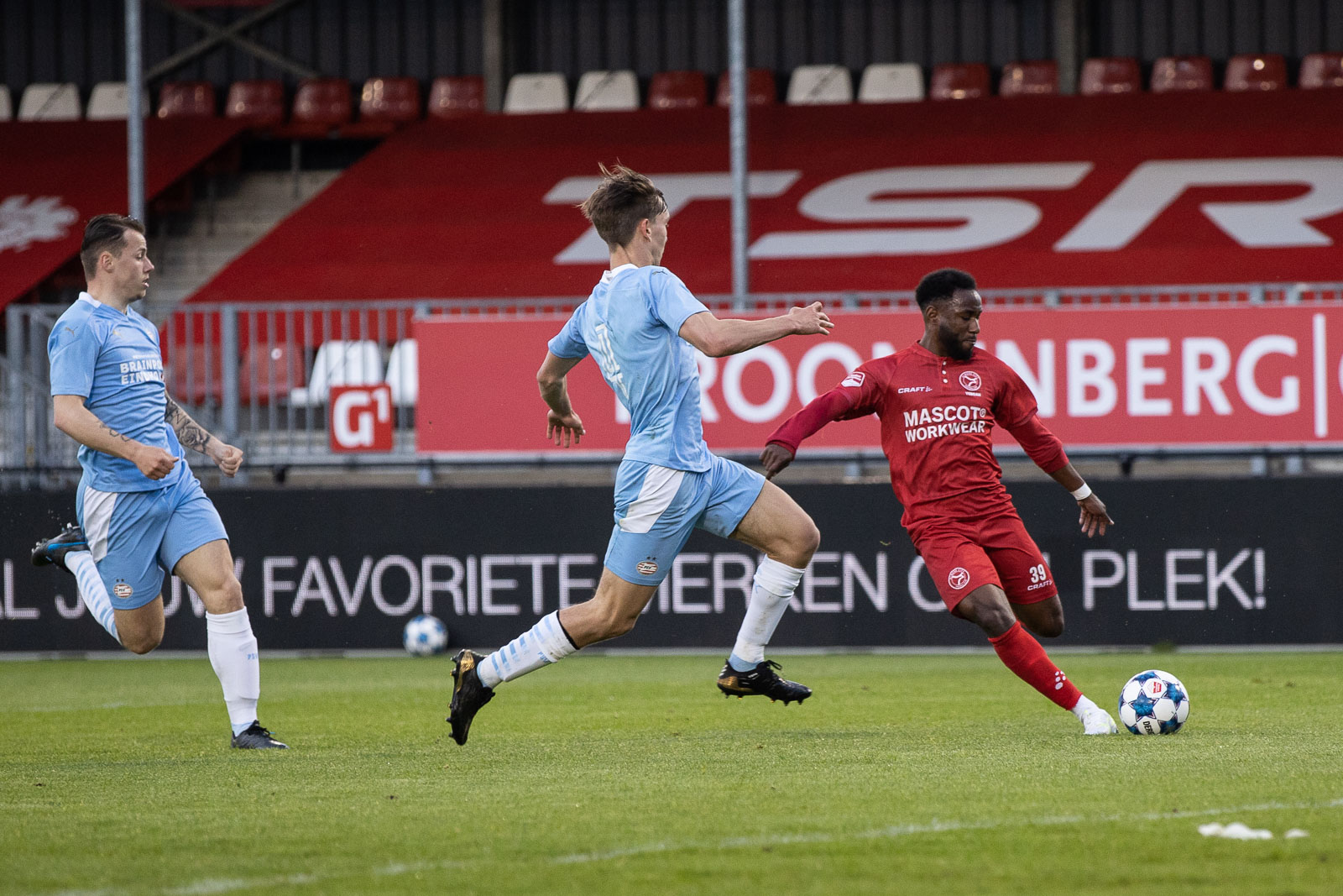 Almere City gaat de play-offs in na gelijkspel