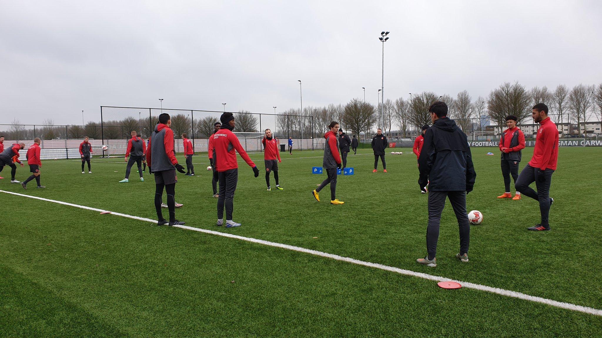 Almere City FC pakt volgende week de training weer op