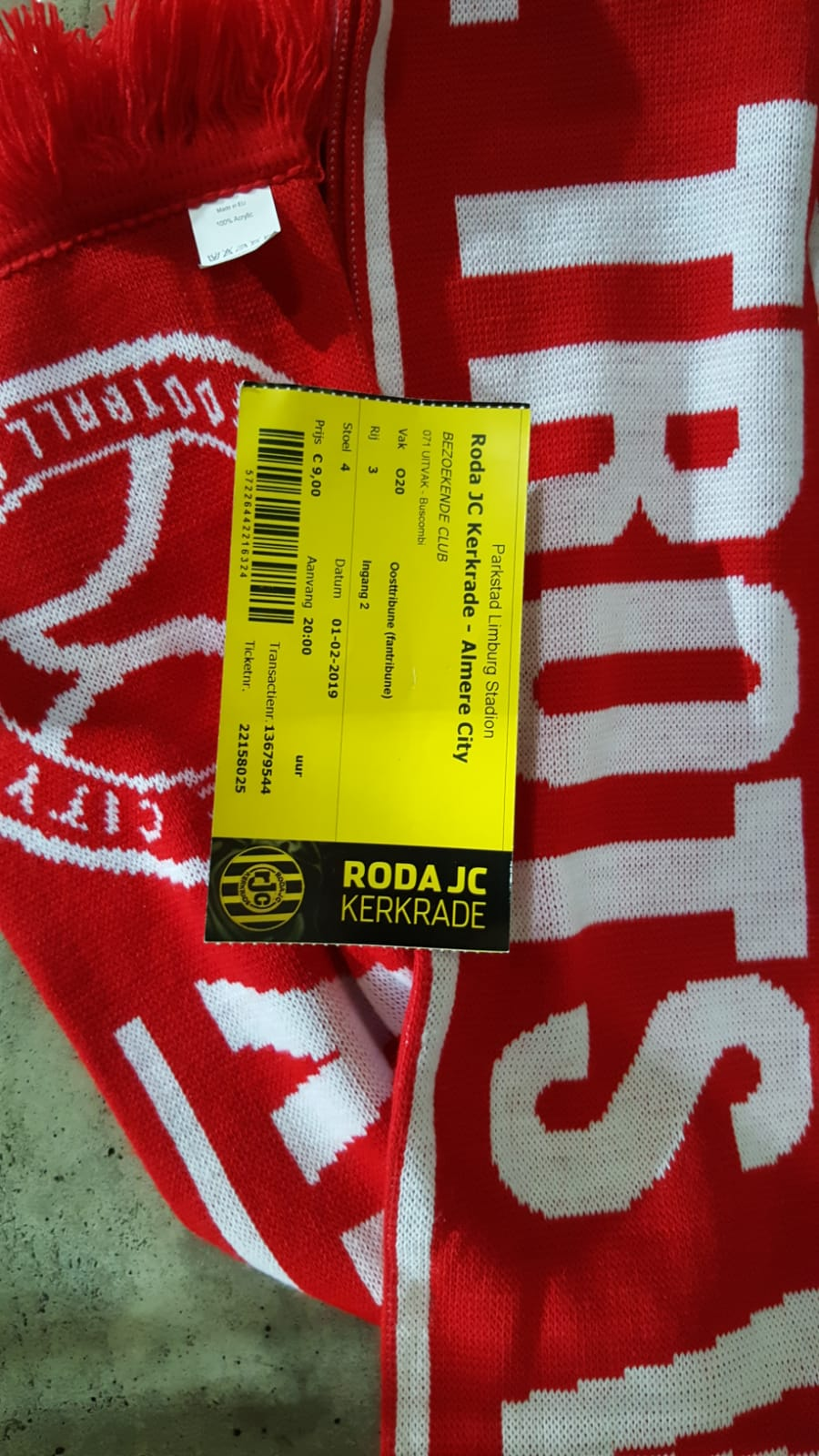 Away Day: Roda JC Kerkrade