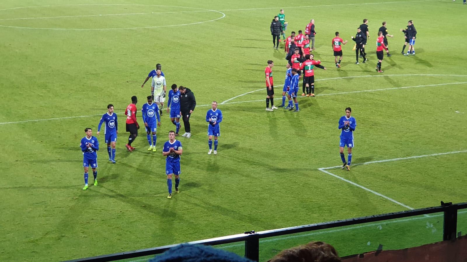 NEC wint met 5-0 van Almere City FC