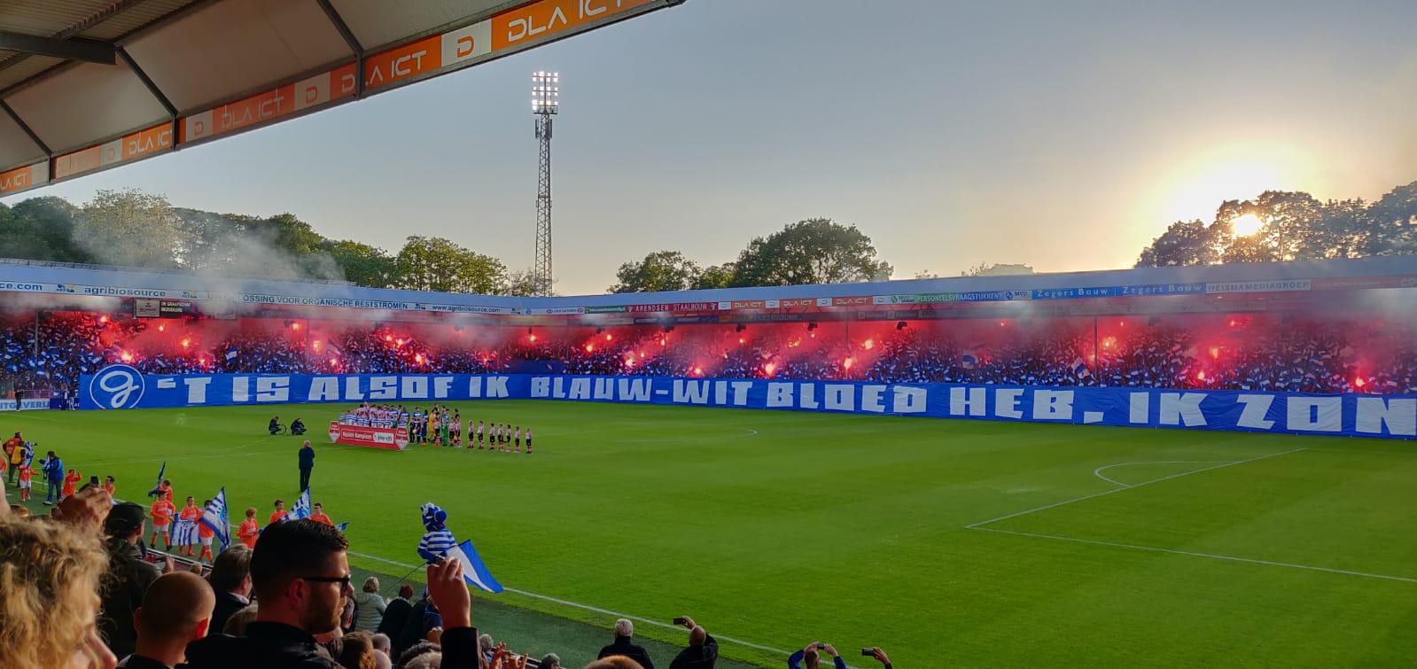 Ook De Graafschap degradeert. Drie degradanten uit de Eredivisie