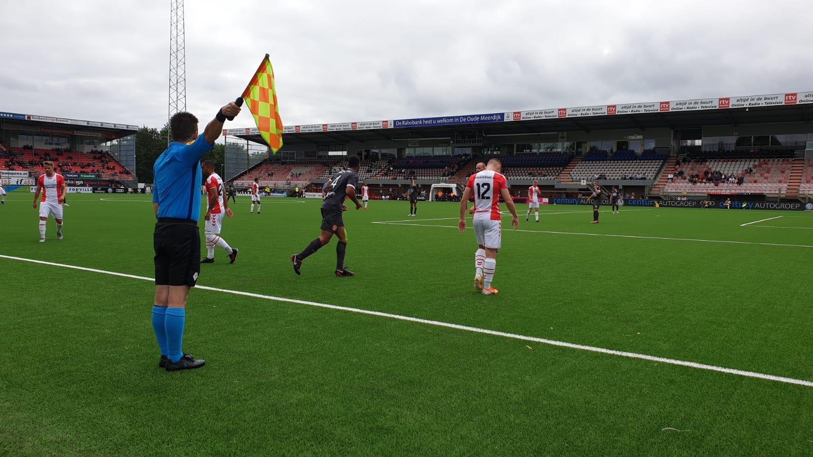 City speelt gelijk tegen Eredivisionist Emmen