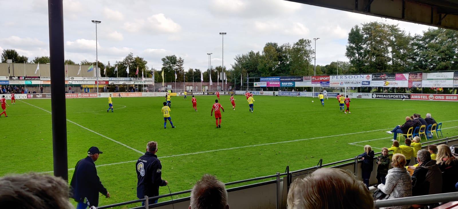 Beloften slepen gelijkspel uit wedstrijd bij FC Lisse