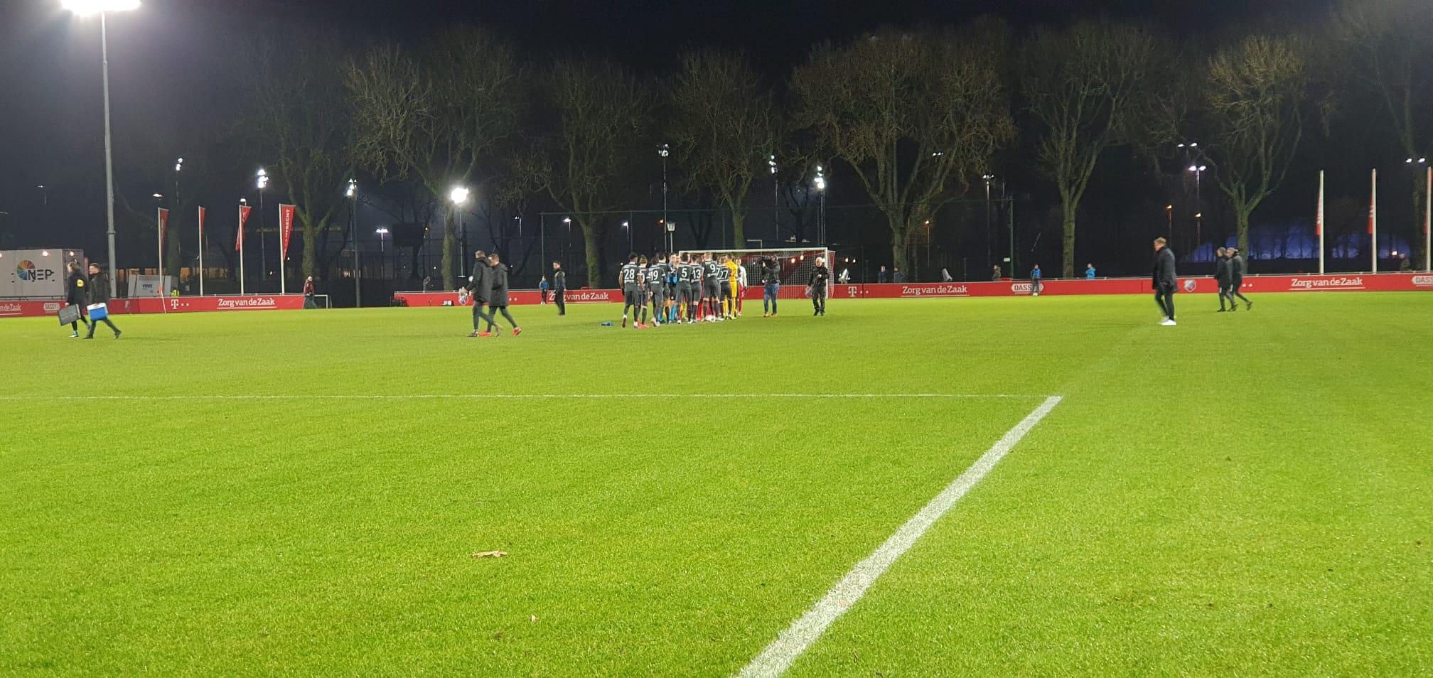 Ook Tobiasen weet Almere City FC niet te laten winnen op vreemde bodem