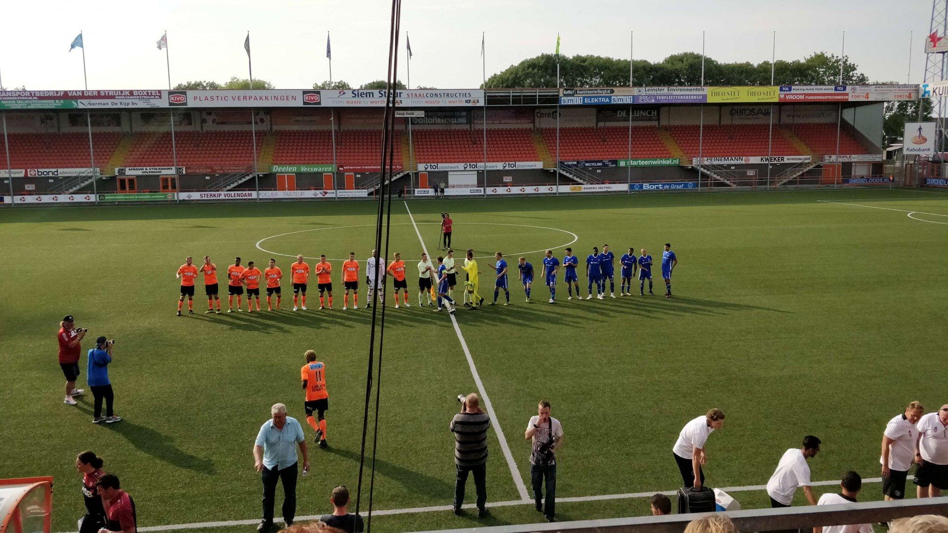 Oefenwinst voor Almere City FC bij Open Dag FC Volendam