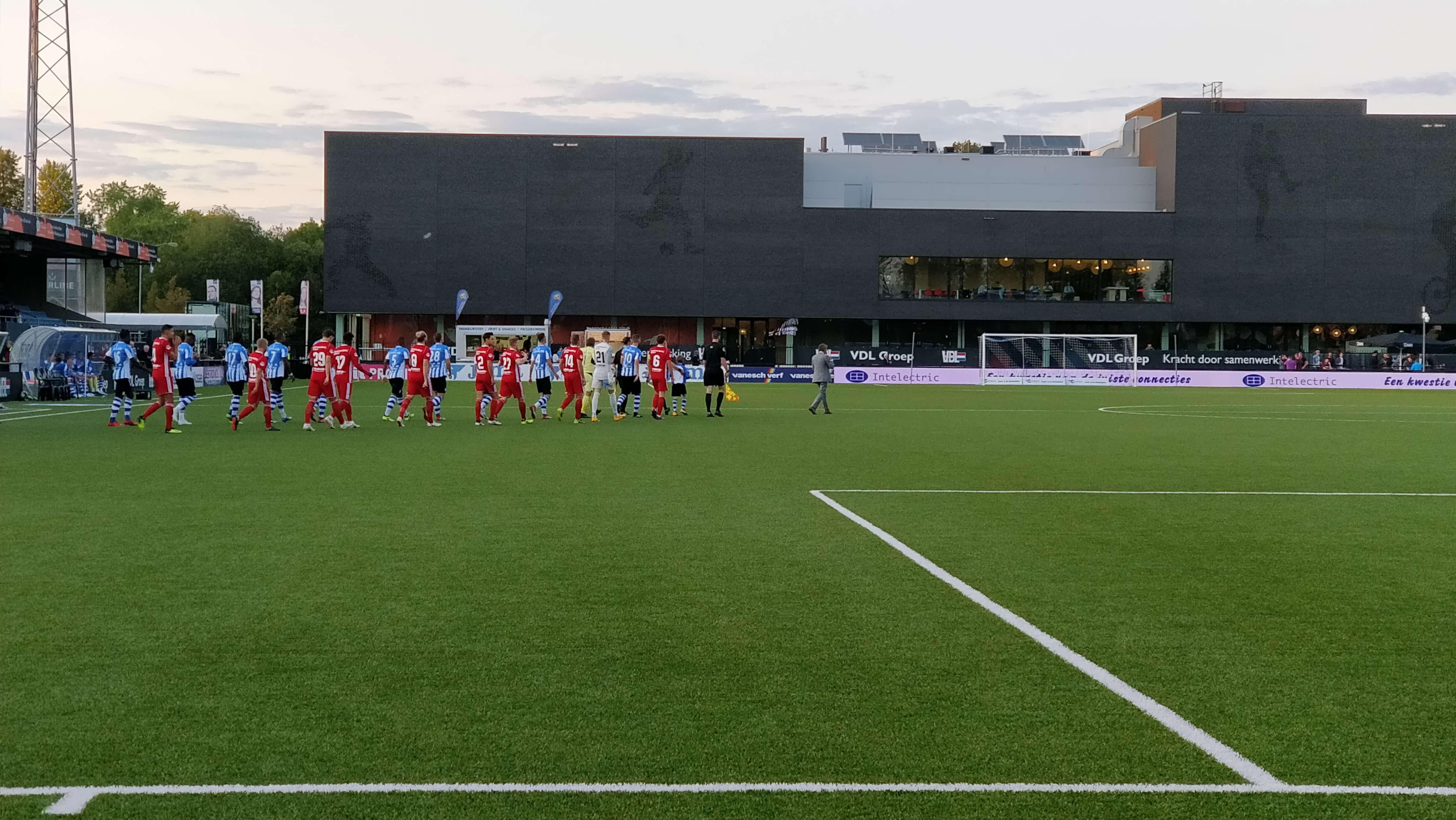 Almere City FC start de 1e periode met winst bij FC Eindhoven