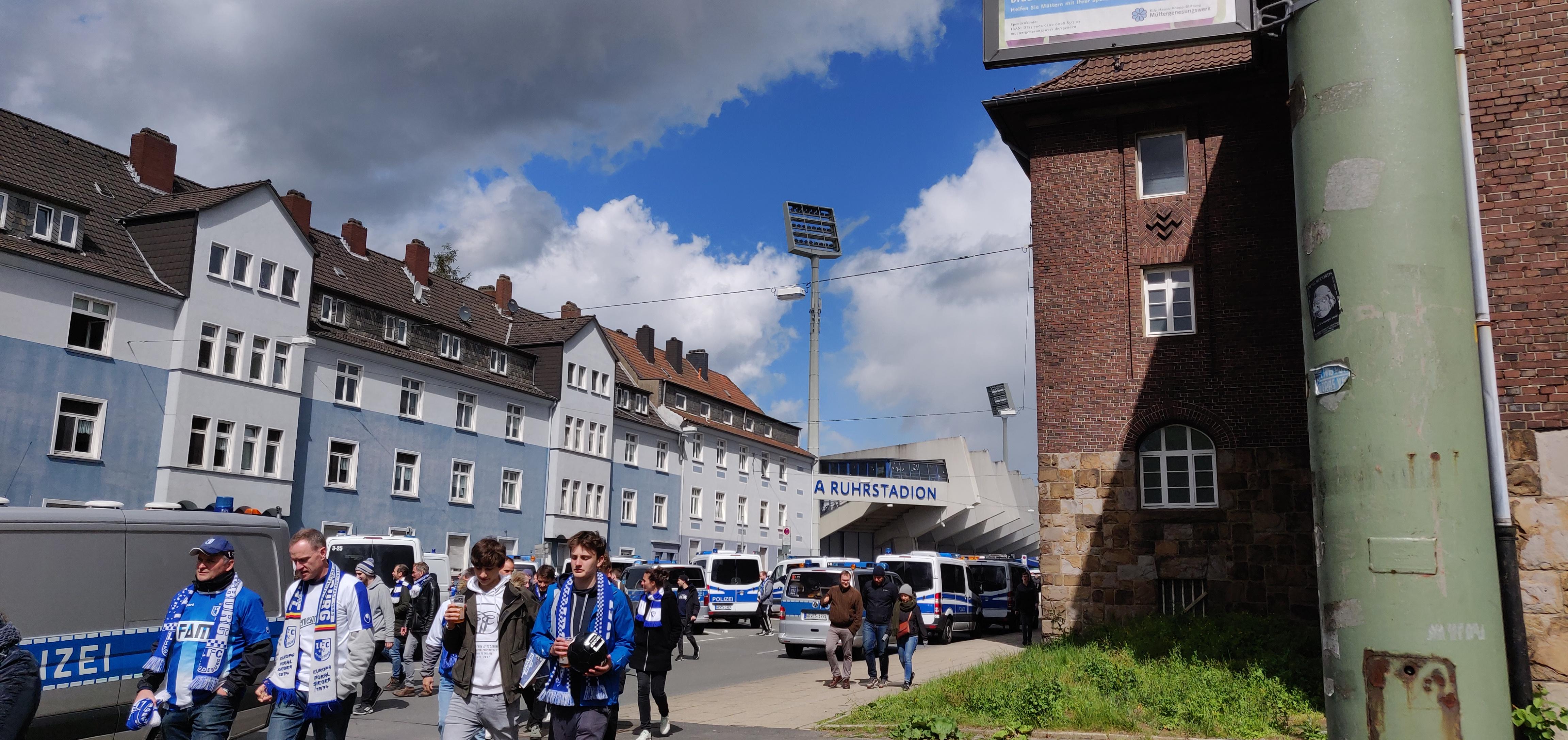 In een ander stadion: VfL Bochum – 1. FC Magdenburg