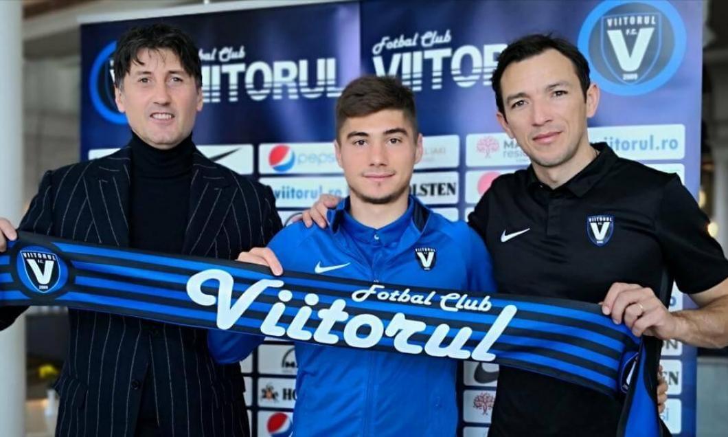 FC Viitorul neemt Andreias Calcan over van Almere City FC