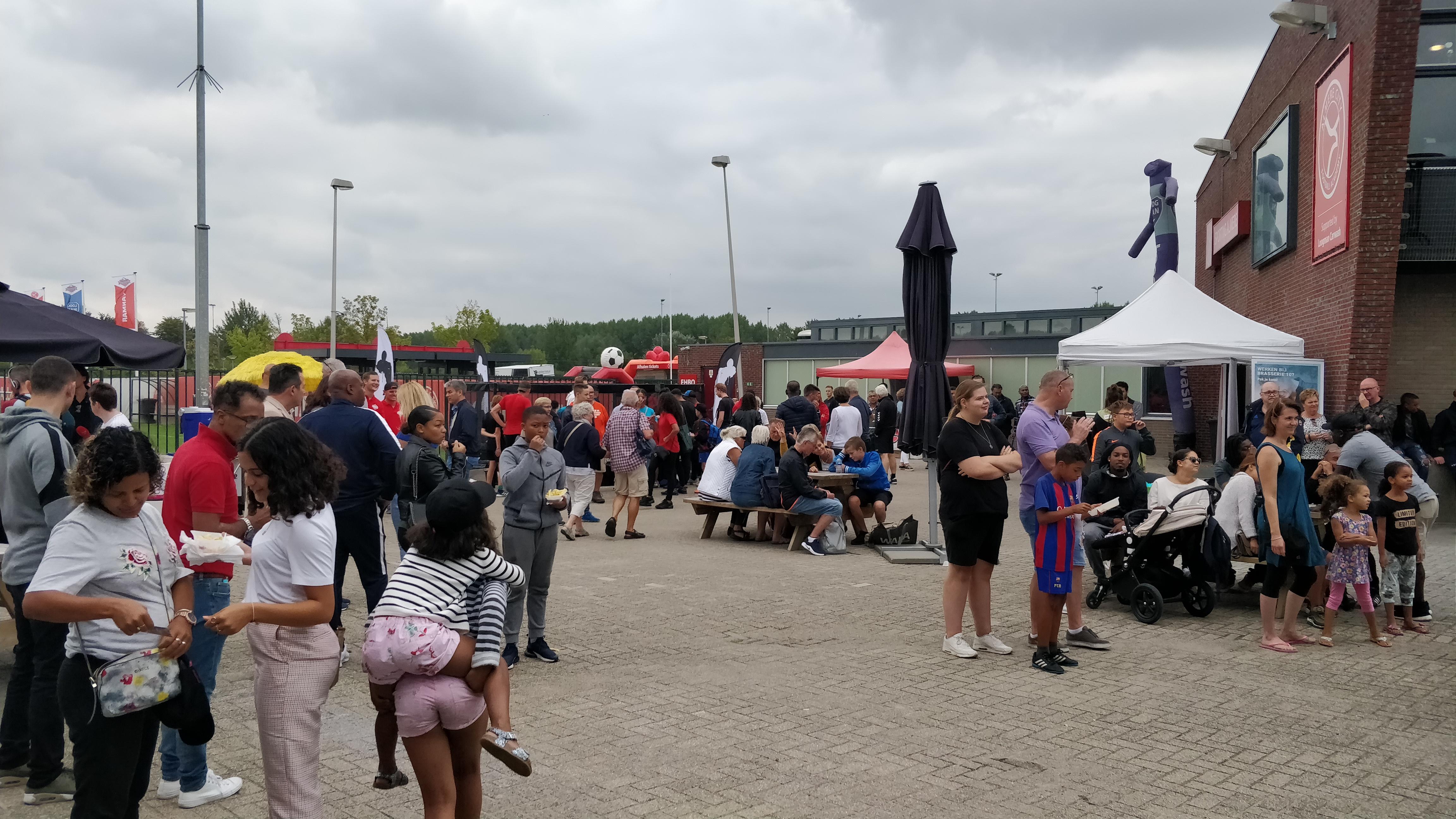 Gratis thuisshirt af te halen tijdens Almere Challenge Event