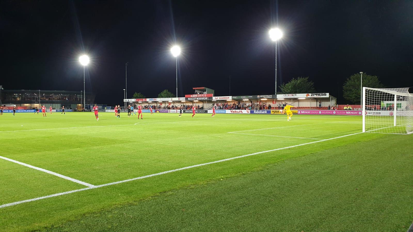 Invaller Verheydt bezorgt Almere City de winst tegen Jong PSV