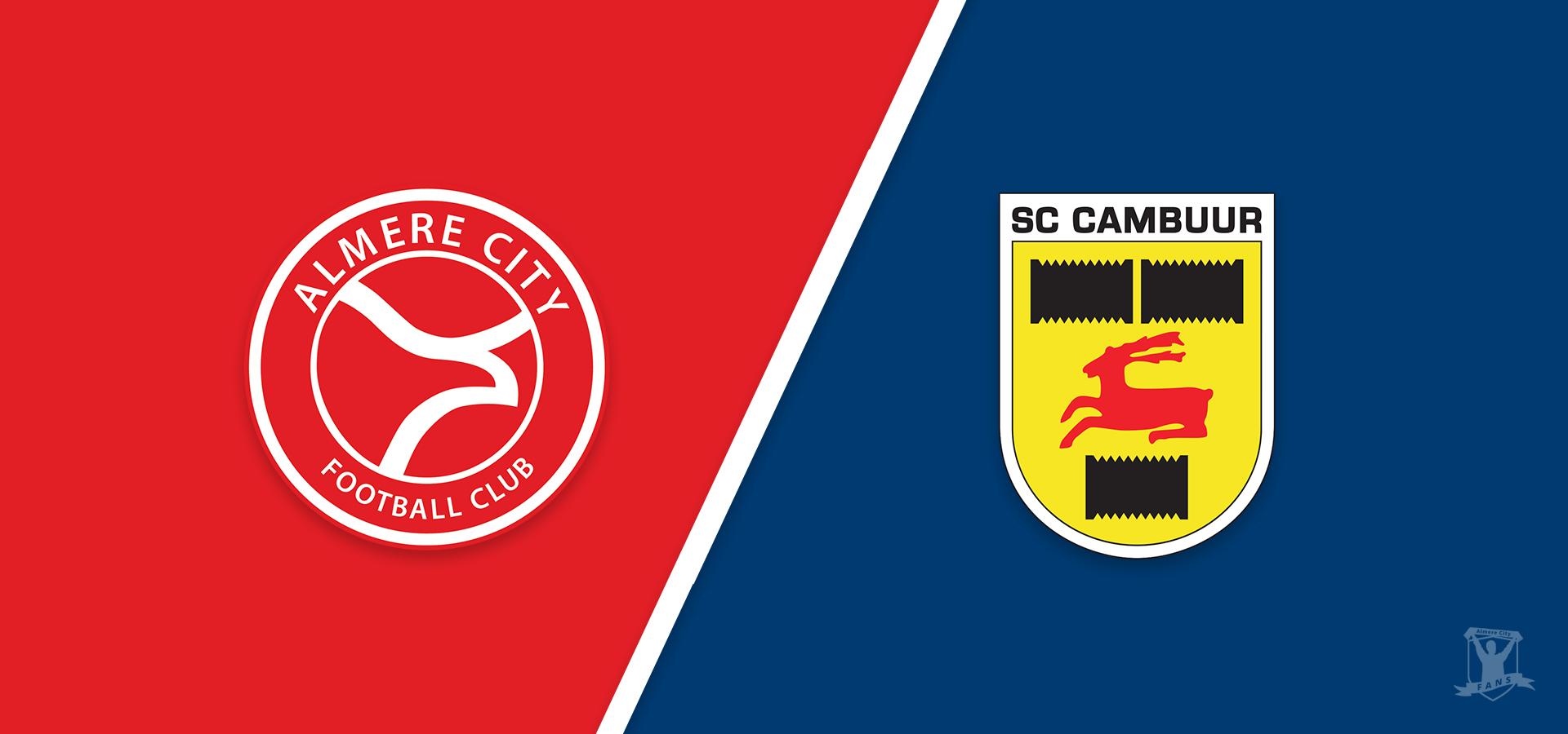 Almere City FC maakt zich op voor topper tegen Cambuur met publiek