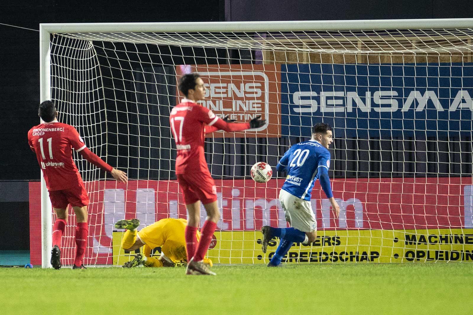 Indrukwekkende thuisreeks ten einde na verlies tegen FC Den Bosch