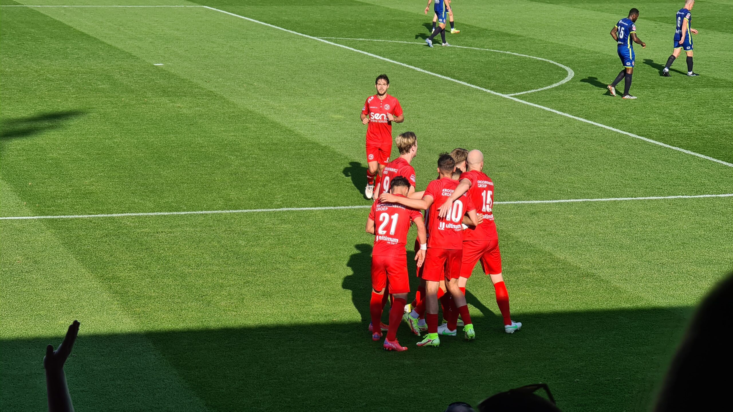 Almere City overklast TOP Oss voor eerste thuisoverwinning