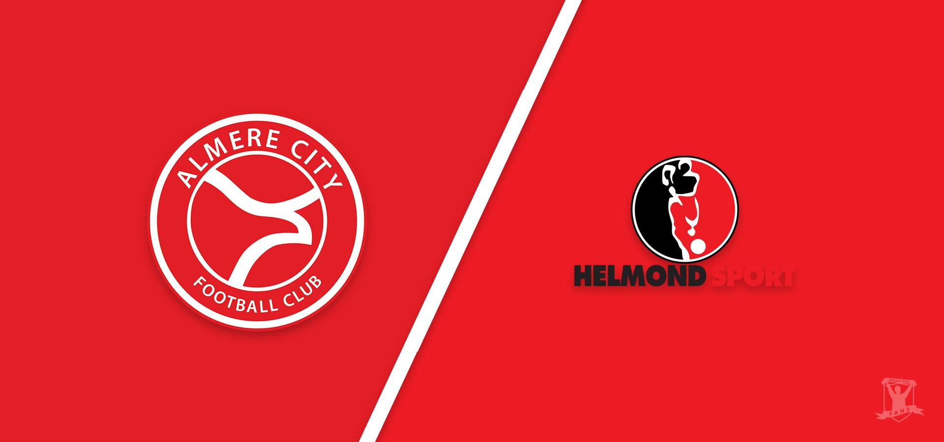 Almere City FC tegen hekkensluiter Helmond Sport