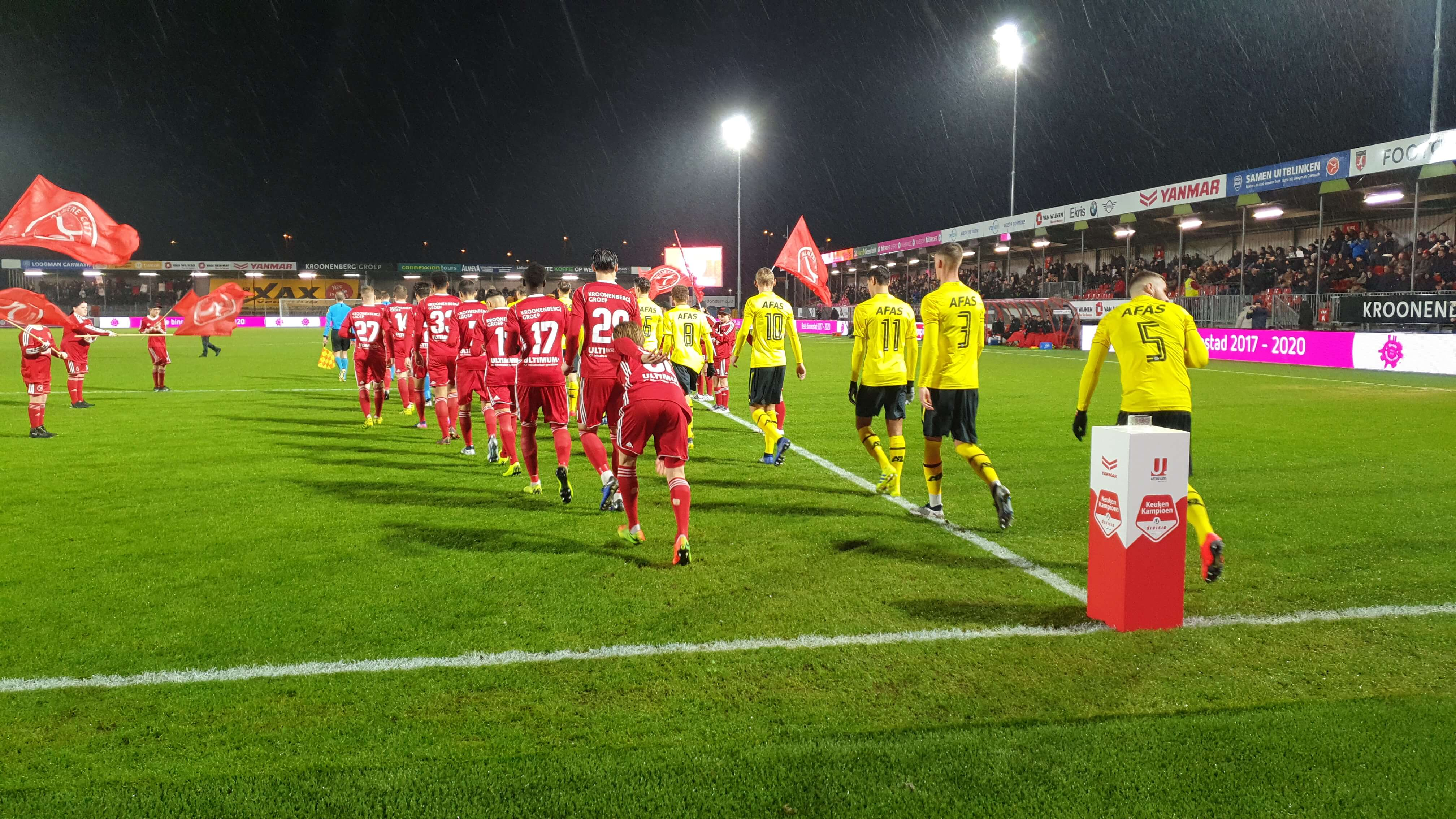 Almere City FC pakt weer 3 punten en houd de nul