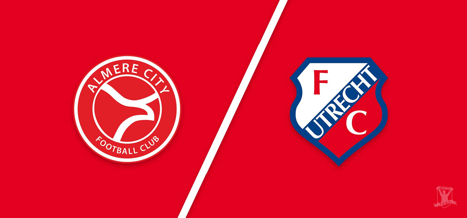 Almere City FC wil ongeslagen status tegen Jong FC Utrecht behouden in Almere