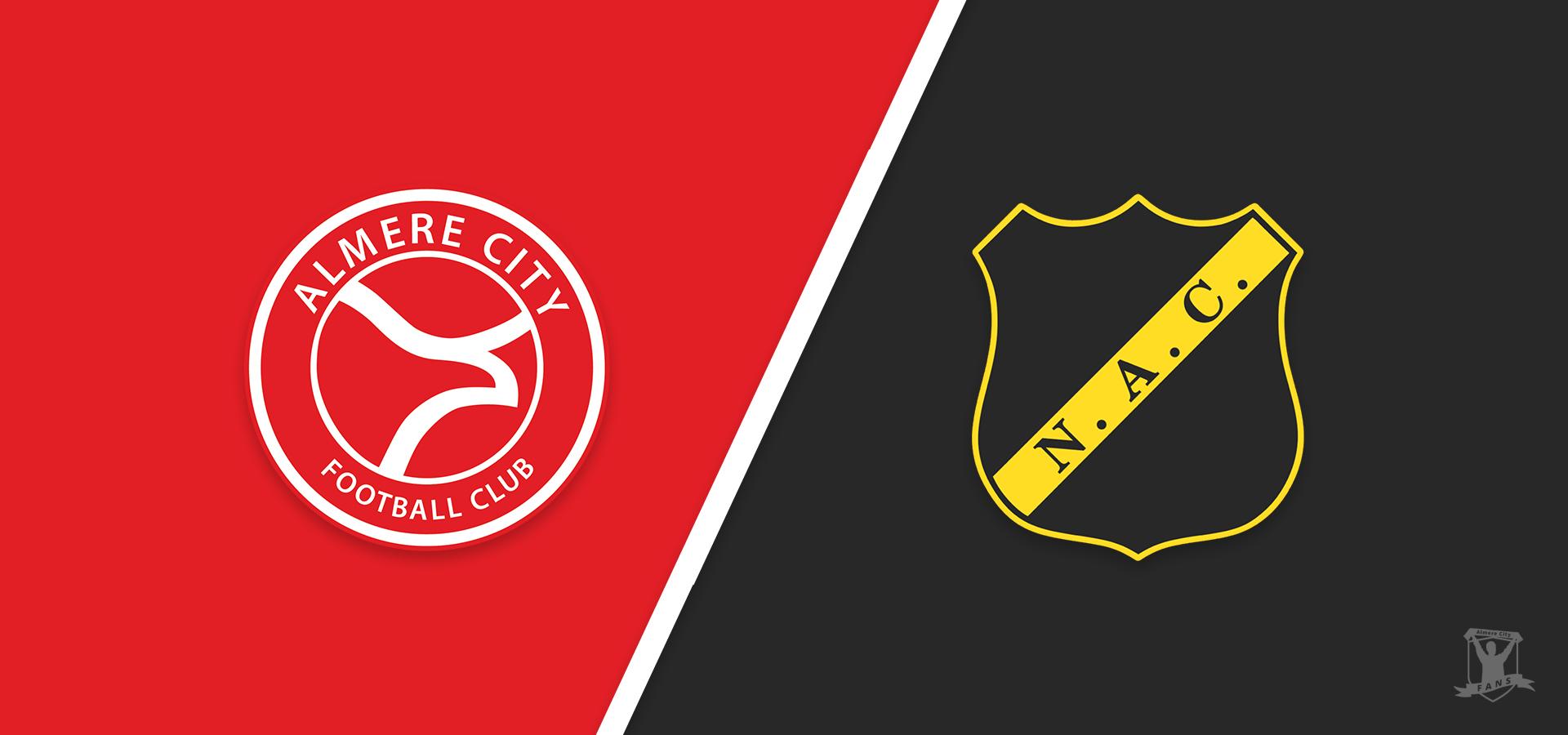 Voorbeschouwing: Almere City FC in topper tegen NAC Breda