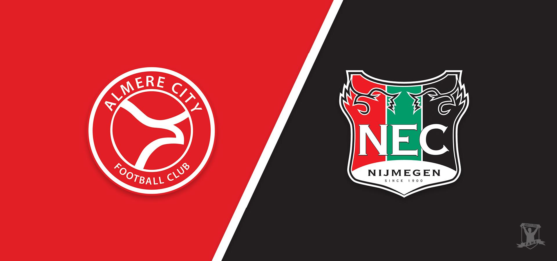 Voorbeschouwing: Almere City FC hoopt op goede vrijdag tegen NEC