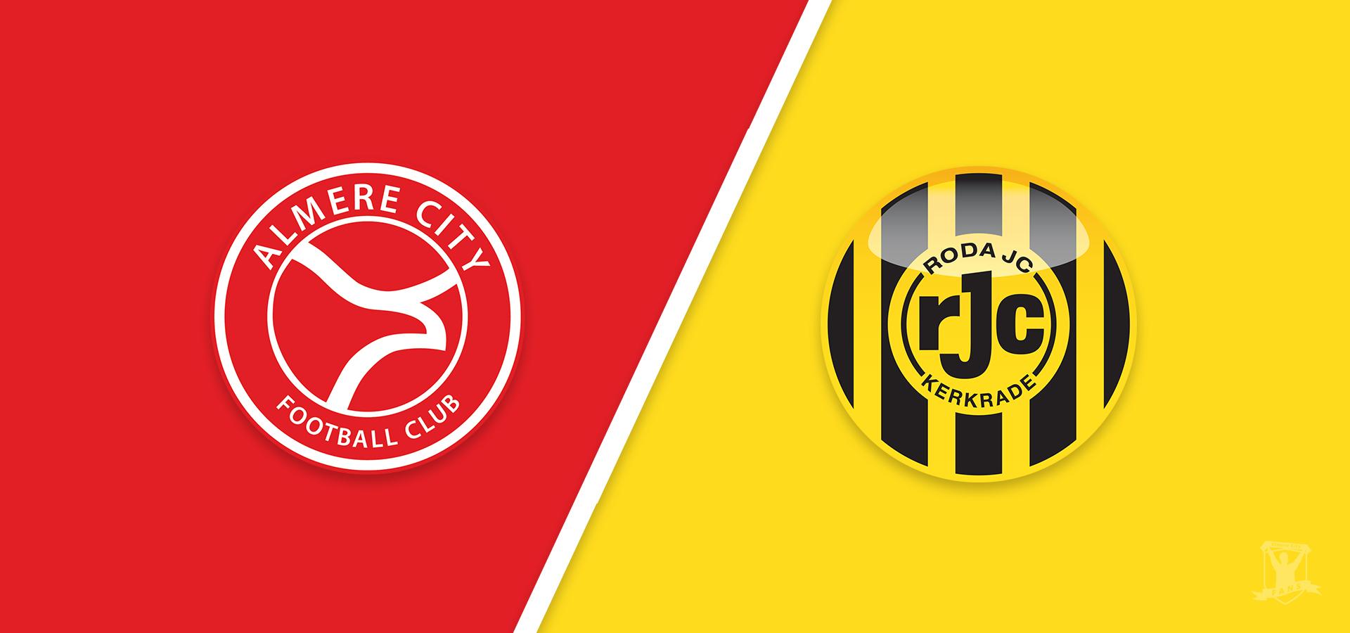 Voorbeschouwing: Almere City FC wacht lastige wedstrijd tegen Roda JC