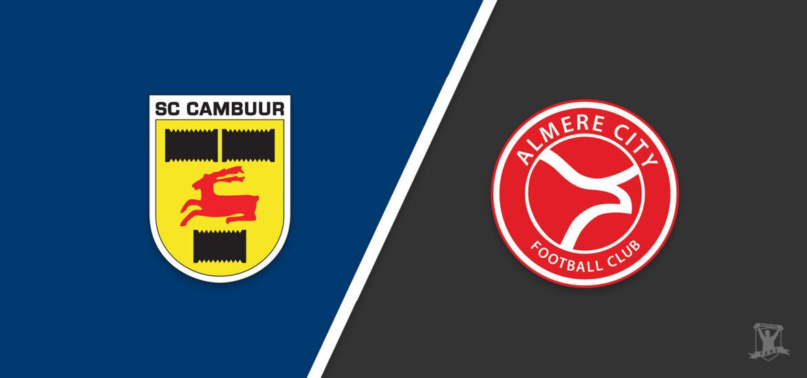 Voorbeschouwing: Almere City FC wil koppositie verdedigen in topper tegen Cambuur